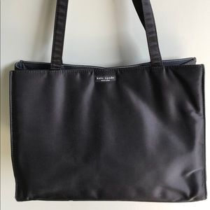 Kate Spade Black Nylon Medium Tote - Gently Used